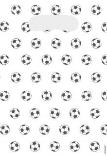 8 Fußball Party Tüten Kicker Party