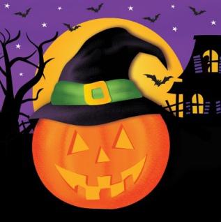 48 Teile kleines Fingerfood Halloween Deko Set Grusel Freunde für 16 Kinder - Vorschau 4