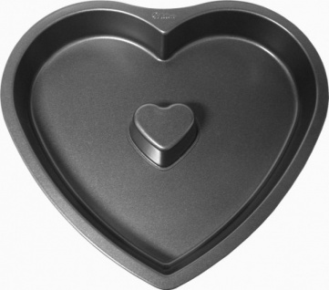 Premium Antihaft Herz Backform