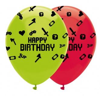 6 Luftballons Gaming Party