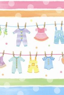 Plastik Tischdecke Baby Kleidung