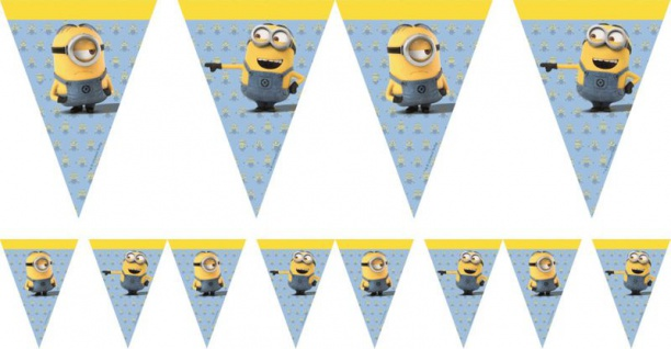 Wimpel Girlande Minions