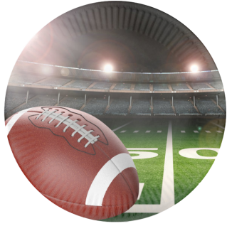 104 Papp Teller - American Football Superbowl Party