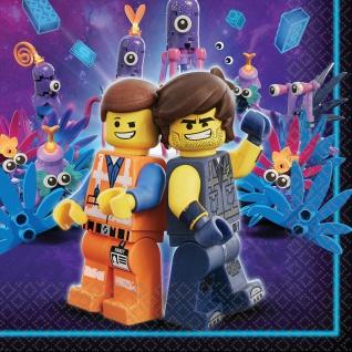 16 Servietten Lego Movie 2 Abenteuer im Weltraum