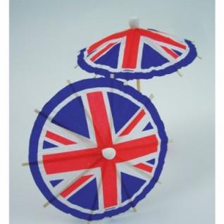 20 Dekoschirmchen Großbritannien
