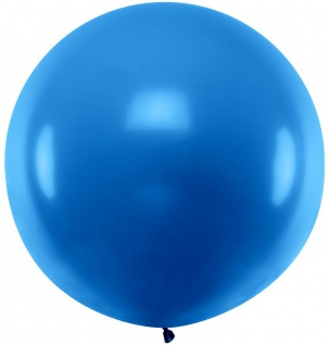 XXL Luftballon Flying Giant in Blau 1m