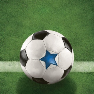 16 Servietten Fußball Champion