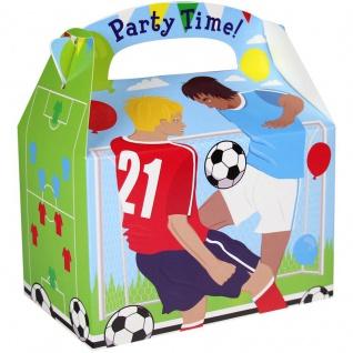 1 Stück Geschenk Box aus Karton Fußball