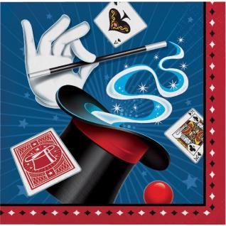 16 Servietten Magier und Zauberer - Vorschau 1