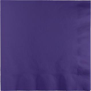 50 Servietten Violett