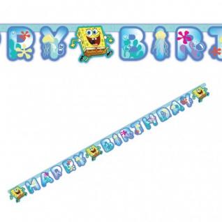 Spongebob Geburtstags Girlande