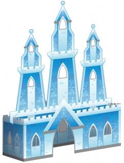 Schnee Prinzessin 3D Tischaufsteller