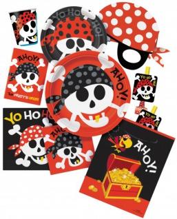 8 Piraten Masken - Vorschau 3