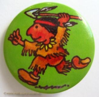 Mini Button Indianer