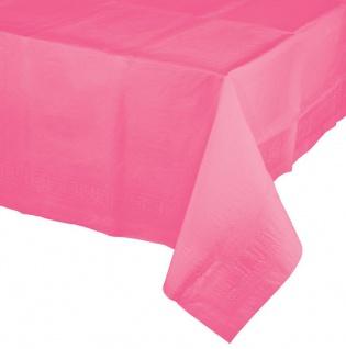 Papier Tischdecke Bonbon Rosa 2, 74 x 1, 37 m