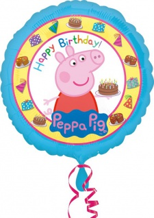 Geburtstags Folien Ballon Peppa Wutz