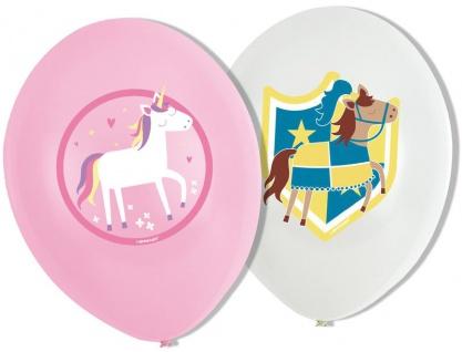 6 Luftballons Prinzessin und Ritter - Vorschau