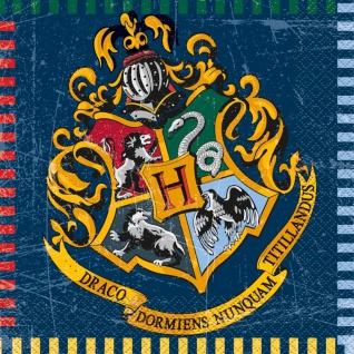 16 Servietten Harry Potter