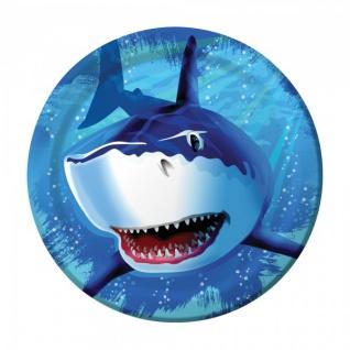 8 Haifisch Party Teller
