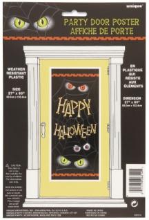 Halloween Tür Poster