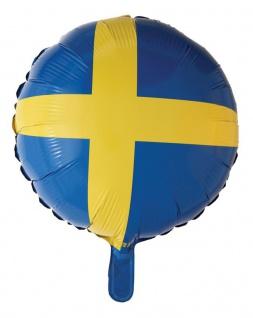 Schweden Folien Ballon 45 cm