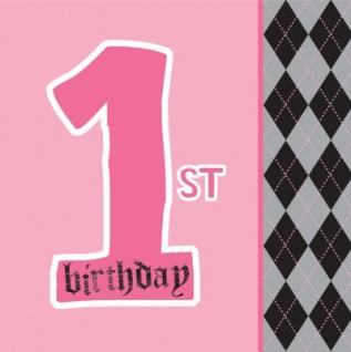 16 Erster Geburtstag Angel Servietten