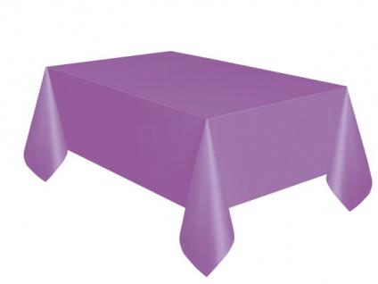 Plastik Tischdecke Lila Pflaume