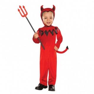 Kleinkind Kostüm roter Teufel