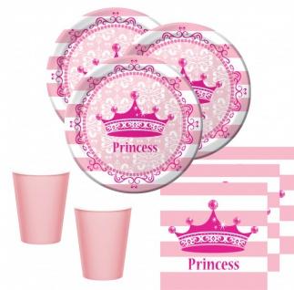 32 Teile Royal Princess Set für 8 Prinzessinnen