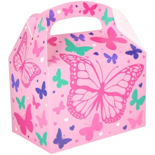1 Stück Geschenk Box aus Karton Schmetterling - Vorschau