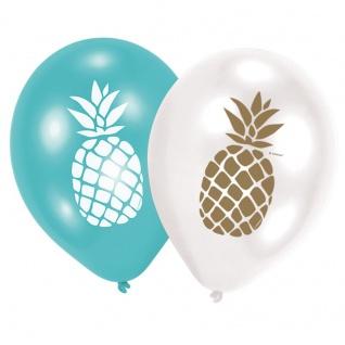 6 Luftballons Ananas