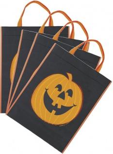 8 Kürbis Sammel Taschen für Halloween - Sammeltasche