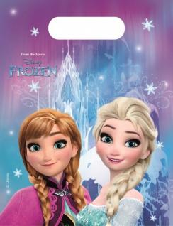 6 Party Tüten Frozen Eiskönigin Nordlichter