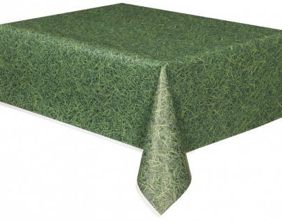 Gras oder Rasen Tischdecke