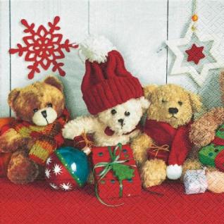 20 Weihnachts Servietten Weihnachts Teddies