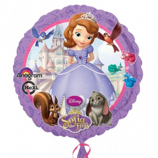 Folien Ballon Sofia die Erste