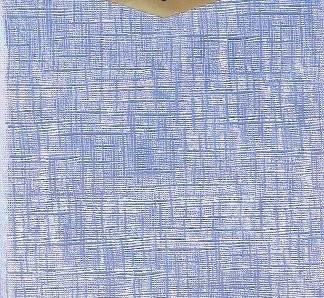 Runde Tischdecke Hellblau Changierend