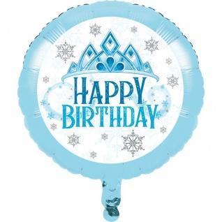 Schnee Prinzessin Geburtstags Folienballon
