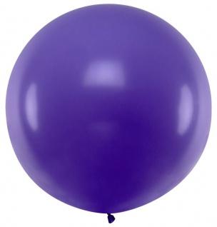 XXL Luftballon Flying Giant in Violett 1m