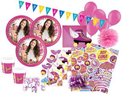 XXL 76 Teile Disney's Soy Luna Party Set für 6-8 Kinder