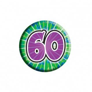 Geburtstags Button 60