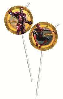 6 Trinkhalme Avengers Infinity War