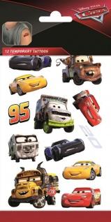 1 Bogen Cars Kinder Tattoos