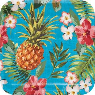 8 Teller Ananas Party