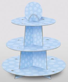 Muffin Ständer hellblau
