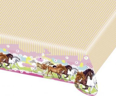 Pferde Party Tischdecke Charming Horses