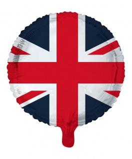 Großbritannien Folien Ballon 45 cm