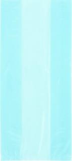 30 Zellophantüten Hellblau