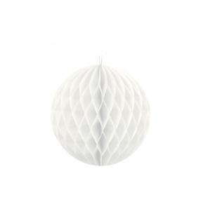 Wabenball Weiß 10 cm