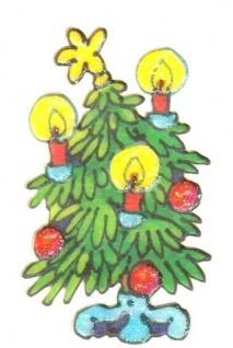 Weihnachtsbaum Mini Sticker - ItSticks